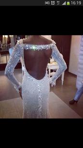 dress,diamante dress
