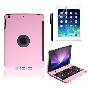 release date a3975 1805c Amazon.com: BoriYuan Slim iPad Mini Case with Keyboard Aluminium Wireless  Bluetooth Keyboard Folio Smart Stand Cover For Apple iPad Mini 3/ iPad Mini  ...