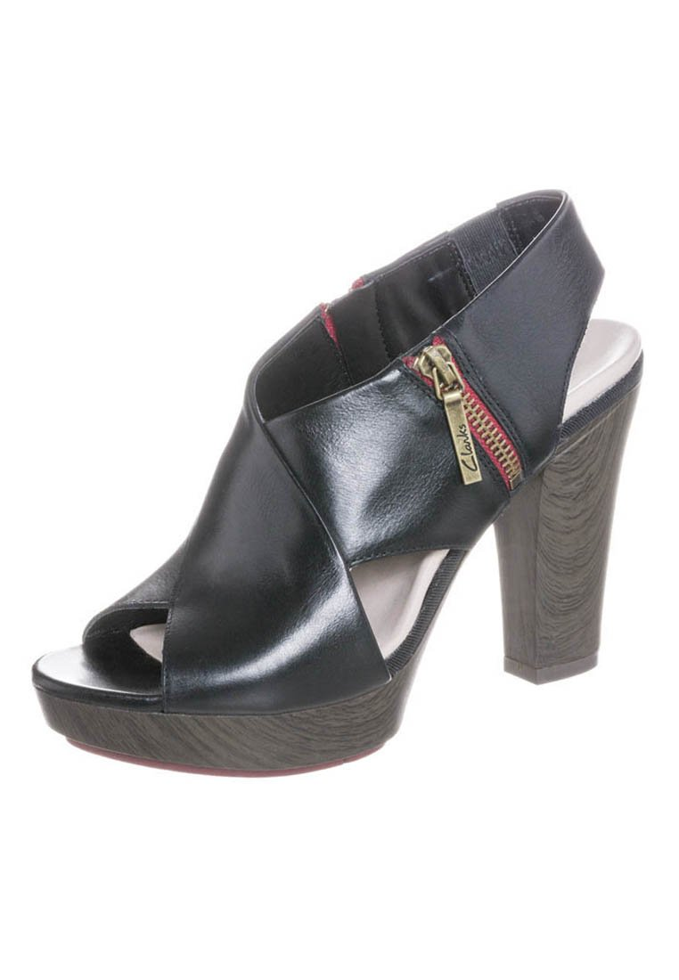 Clarks PACEY GEMSTONE - Sandalette - black - Zalando.de