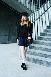 kristina magdalina,blogger,jewels,sweater,bag,shorts,shoes