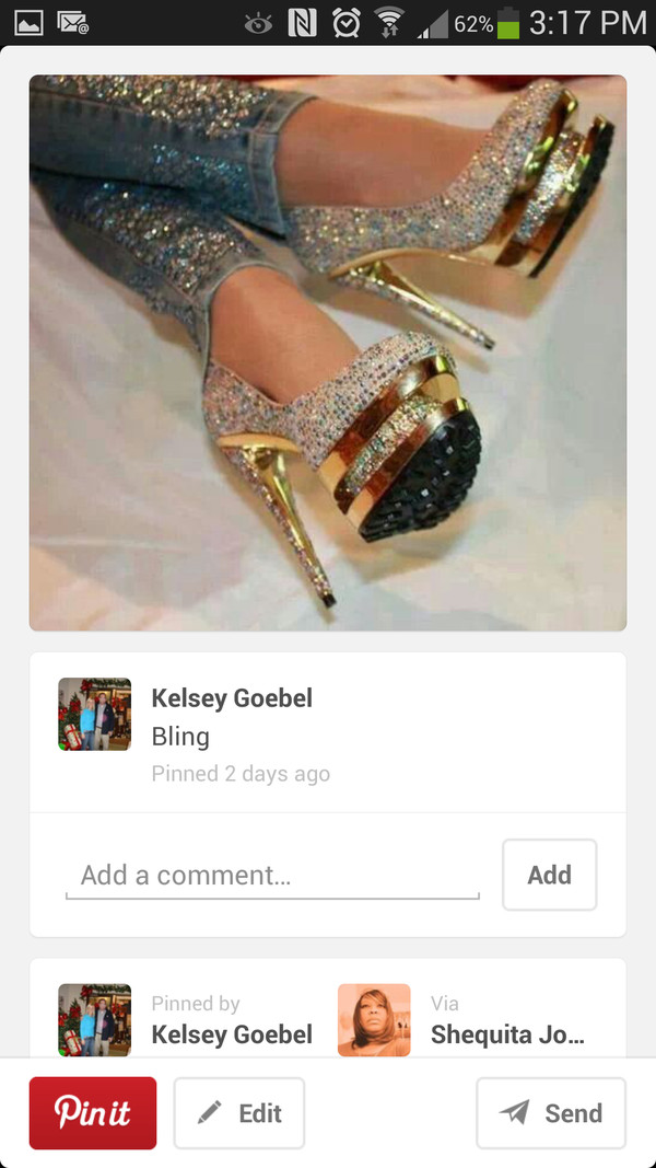 shoes bling gold heels modern sparkle glitter