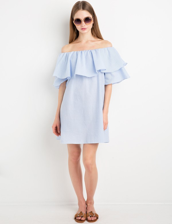 dress gingham ruffled off the shoulder dress gingham sundress cute summer dresses ruffle off the shoulder off the shoulder dress gingham cute dress pixie lott special occasion dress casual dress