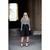 Full A-line Midi Skirt in Black - Retro, Indie and Unique Fashion