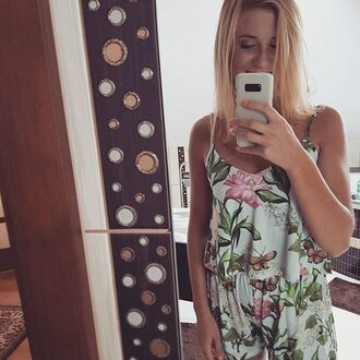 romper yeah bunny floral summer jumpsuit
