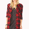 Rustic plaid shirt dress | forever 21 - 2000051205