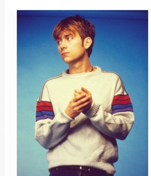 sweater 90s style celebrity style blur