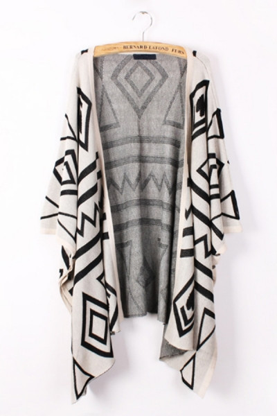 Giah Printed Cardigan | Outfit Made
