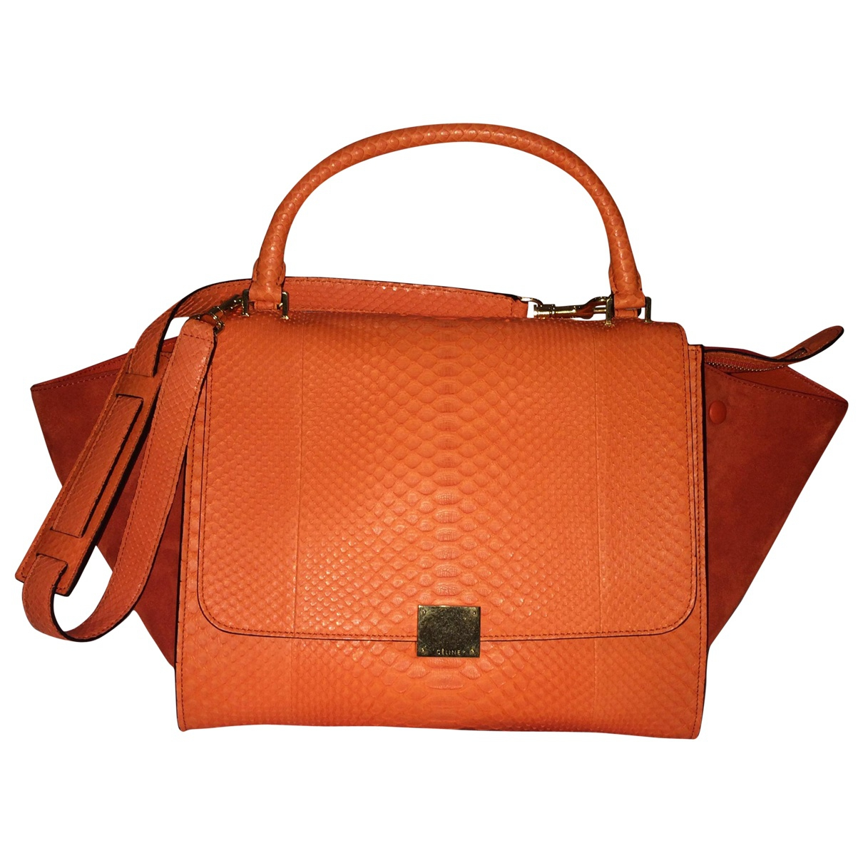 Small trapeze celine orange