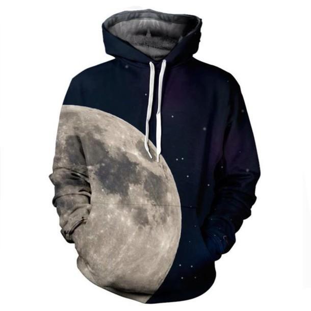 moon hoodie cool