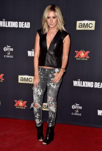 jeans ashley tisdale top