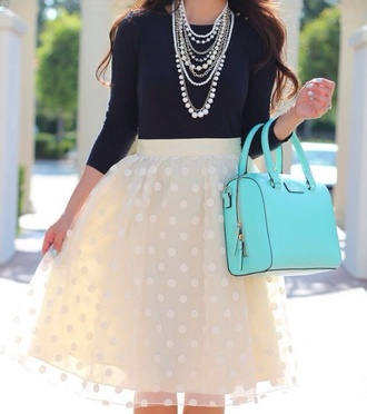 jewels shirt skirt