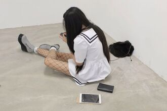 white dress sailor japanese black white kawaii dress pale grunge tumblr outfit kawaii
