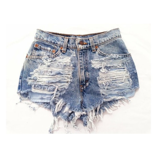 Electra short studded cut off shorts - Polyvore