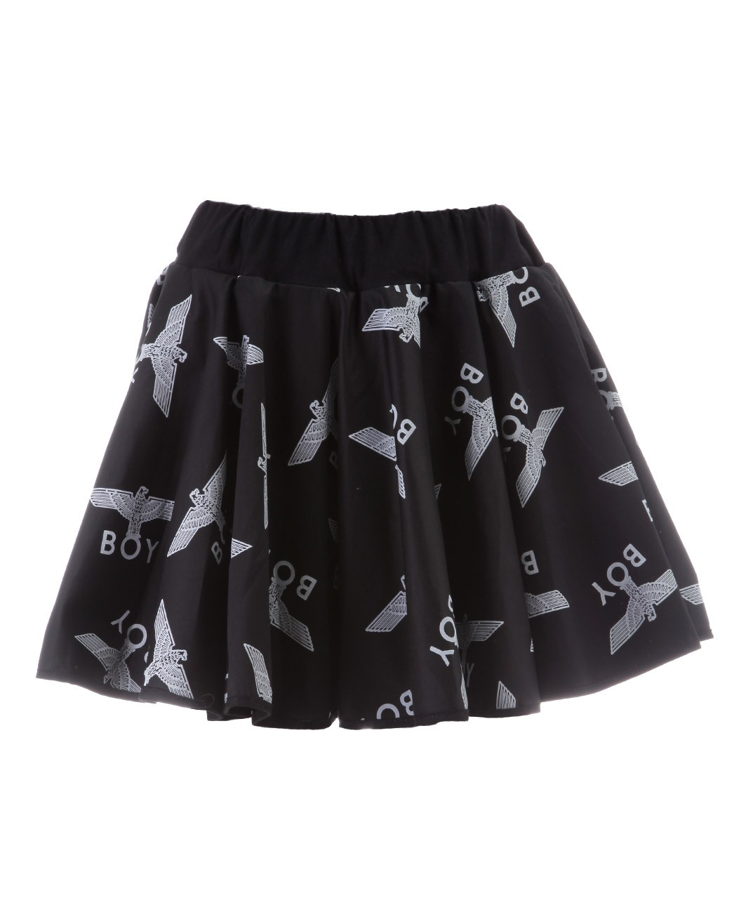 01531c6296643 Boy London - Multi Logo Rara Skirt - Black