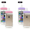 Cute baby milk bottle iphone protective cases with hang rope
