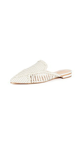 Schutz mules pearl shoes