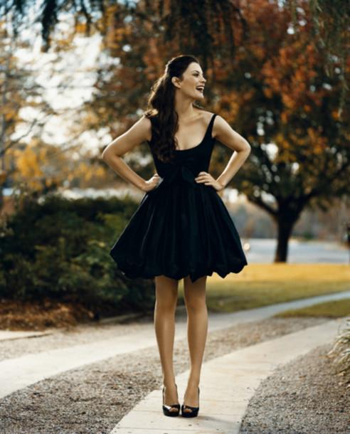 Liv Tyler Wearing A Black Dress From Maje 258 Net A Porter