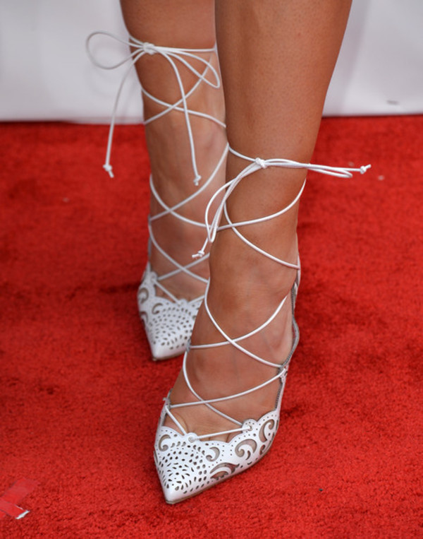 shoes sexy louboutin kylie jenner white nude strappy heels