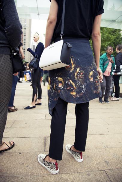 Givenchy Snake Shirt Shirt Givenchy Rottweiler