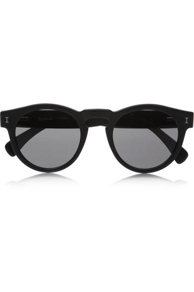 Illesteva|Leonard round-frame acetate sunglasses|NET-A-PORTER.COM
