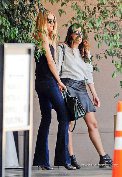 rosie huntington-whiteley shoes jeans