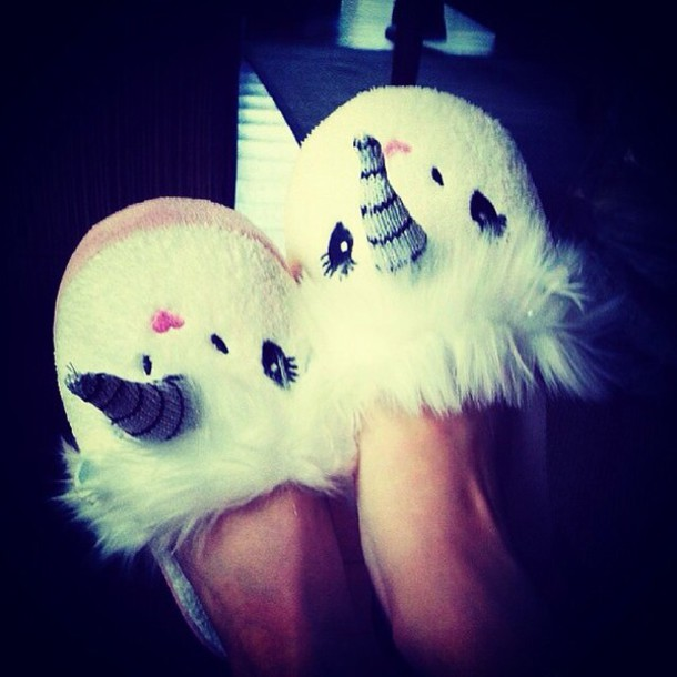 shoes magical slippers animal lovely slip on shoes unicorn animal clothing warm