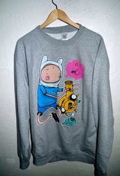 sweater,adventure time,cool shirts,hipster