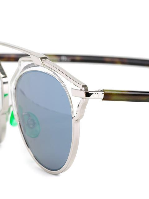 2957efed483 Dior So Real Sunglasses Bleu Marine And Pink Gold