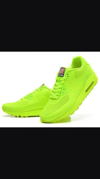 shoes air max nike hyperfuse neon neon yellow