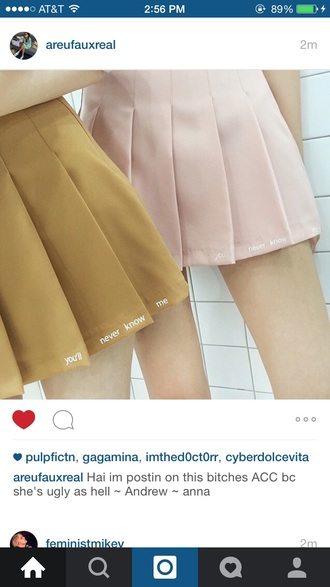skirt yellow pastel pink aesthetics tumblr orange pastel pink aesthetic help me find