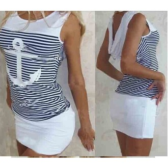 dress casual casual simple printed tee casual dress striped shirt blue and white striped striped skirt anchor shirt blue pattern china pattern dress stripes anchor pattern maxi dress patterned dress white and blue short dress sleeveless sleeveless dress' hat one piece dress sexy dress maxi sexy dress party weekend