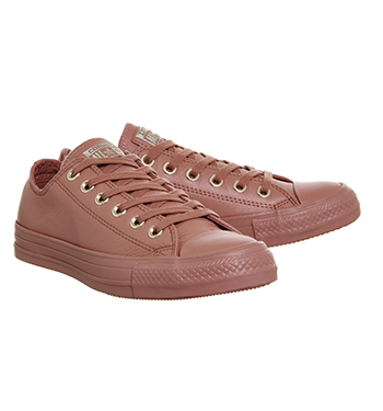 1dac55a929a8 Converse All Star Low Leather Desert Sand Light Gold Exclusive ...