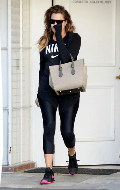 top sportswear sports shoes khloe kardashian