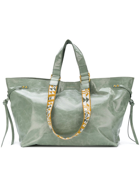 Isabel Marant women leather green bag
