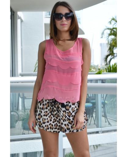 Trendy Clothing, Fashion Shoes, Women Accessories | Maddie Leopard Print Shorts  | LoveShoppingMiami.com