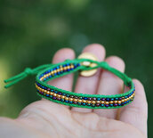 jewels,green and gold,bohemian bracelet,wrap bracelet,bff,brasilian,green bracelet,boho,bohemian jewelry,ethnic,ethnic jewellery,stacking bracelets,bff bracelet,best friends bracelet,jewelry bracelets,gold,green