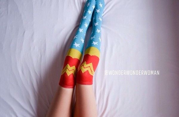 underwear socks wonder woman