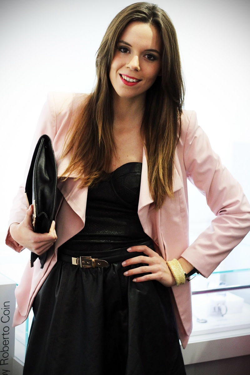 "Roberto Coin ""The Fifth season"" Pink Party in Rome   pink outfit - Irene's Closet - Fashion blogger outfit e streetstyle"