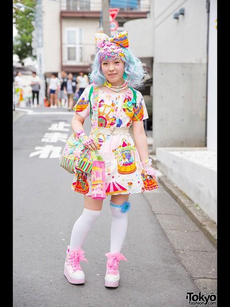 Japan Harajuku Kawaii Dress Kawaii Tokyo Fashion