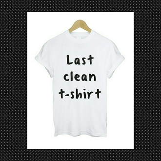 t-shirt funny white quote on it print shirt with text