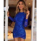 dress,holt miami,holt dress,lace dress in royal blue,royal blue dress,sexy lace dress,bachelorette dress,party dress,birthday dress,holt