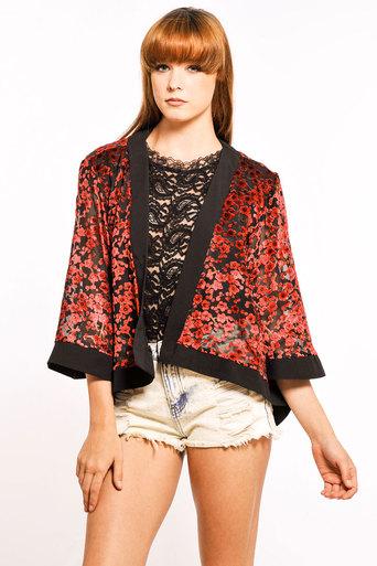 Womens Narcissa Floral Kimono | Pop Couture