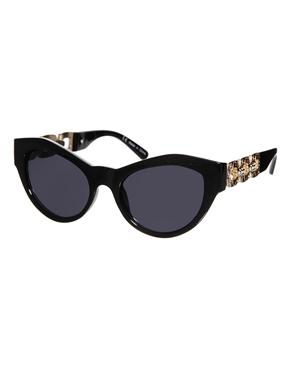 River Island | River Island – Ora – Sonnenbrille mit Katzenaugen bei ASOS