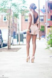 dress,short dress,light color drss,blouse,shirt,jumper,lace,pink,romper,jumpsuit,summer,peach,class,black,high heels,clutch,bun,gold watch,shorts,summer jumpsuit,shoes,backless,peach pink,girly,black lace,blush pink,open back,short,heels,short romper,pants,underwear,clothes,bag,fashion,nude,pink dress,beauty fashion shopping,vback,v back,pajamas,navy,sleep,top,purse,watch,summer outfits,apricot,lace romper,beige,cream,guipure,black jumpsuit,fine knit jumper,asos jumpsuit,outfit,summer dress,summer top,summer accessories,summer beauty,summer holidays,summer sports,summer shoes,cute outfits,lookbook,lookbook store,girly wishlist,dope wishlist,hipster wishlist