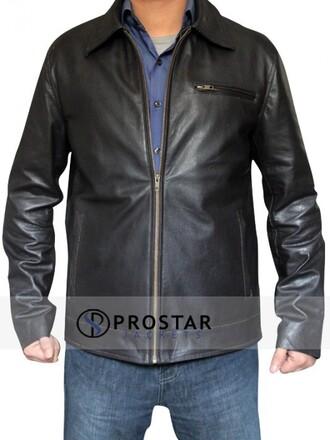 coat rock menswear swag classy builder fashion dwayne johnson leather jacket wrestler