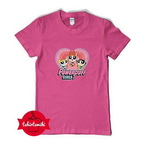 Tshirt powerpuff girl