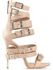 Giuseppe zanotti design strappy buckled sandals