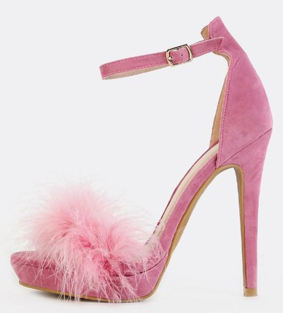 Pink Heels for Girls