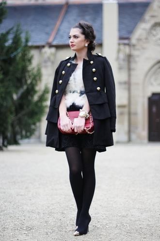 fashionhippieloves coat dress jacket belt shoes bag jewels