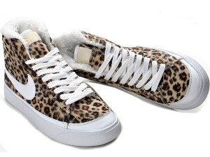 Nike Blazer SB High Leopard Shoes Women 1 review | buy, shop with friends, sale | Kaboodle